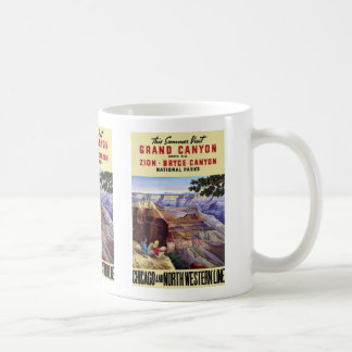 This Summer Visit Grand Canyon Basic White Mug