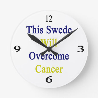 This Swede Will Overcome Cancer Clock