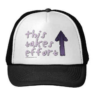 This Takes Effort Mesh Hat