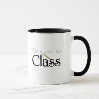 This Teacher Has Class Tshirts and Gifts Mug