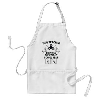 This teacher survived the school year standard apron