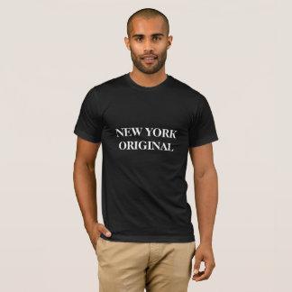 This tee describes New YorK orgination