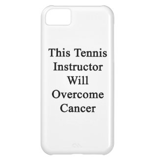 This Tennis Instructor Will Overcome Cancer iPhone 5C Cover