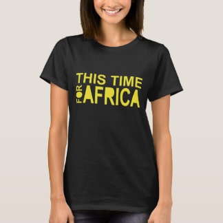 This Time For Africa Waka-waka women Tshirt 2 Side