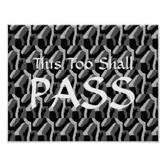 """This Too Shall Pass"" Poster"