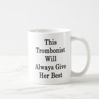 This Trombonist Will Always Give Her Best Coffee Mug