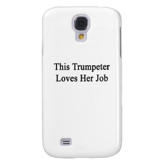 This Trumpeter Loves Her Job Galaxy S4 Covers