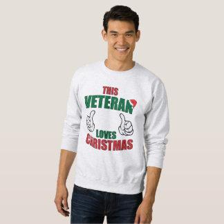 This Veteran Loves Christmas Sweatshirt