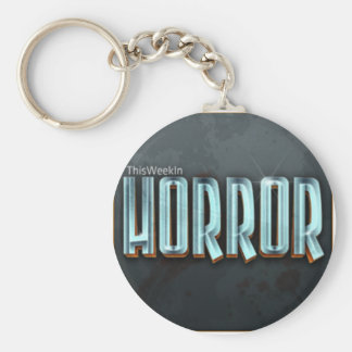 This Week in Horror Circle Keychain