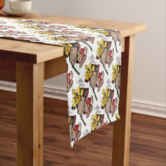 This week is, the cup English story Ota Gunma Short Table Runner