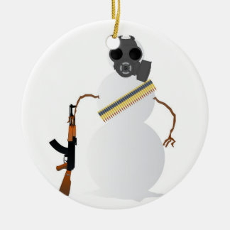 This Winter is Gonna Be Nuclear! Ceramic Ornament