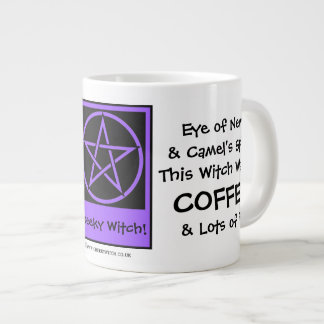 This Witch Wants Coffee JUMBO pagan wiccan mug cup