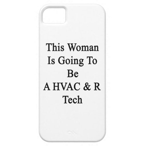 This Woman Is Going To Be A HVAC & R Tech iPhone 5 Case