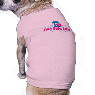ThisBabeBakes Doggie Ribbed Tank Top Sleeveless Dog Shirt