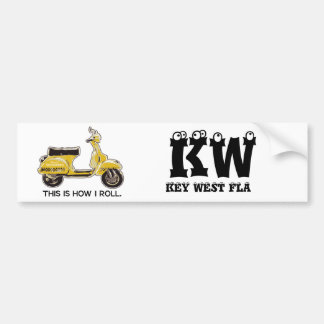ThisIsHowIRoll, KW                             ... Bumper Sticker