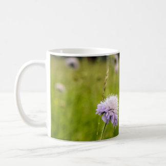 Thistle & Grass, wildflowers in Polish fields Coffee Mug