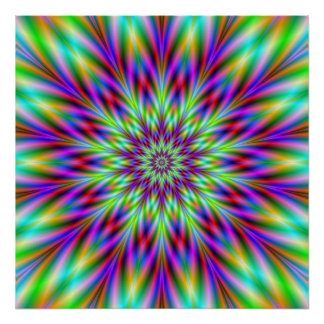 Thistle Star Print