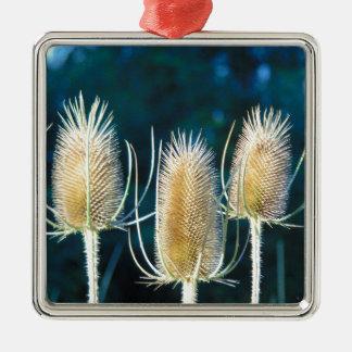 Thistle Trio Metal Ornament