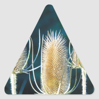 Thistle Trio Triangle Sticker