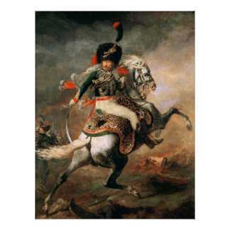 Thodore Gricault The Charging Chasseur Poster