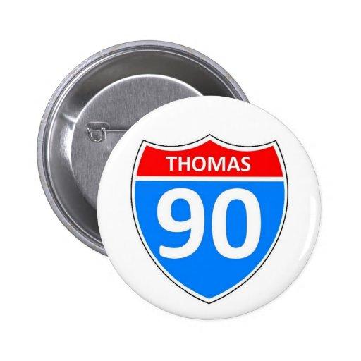 Thomas 90 button
