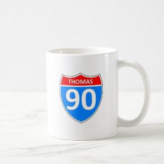 Thomas 90 basic white mug