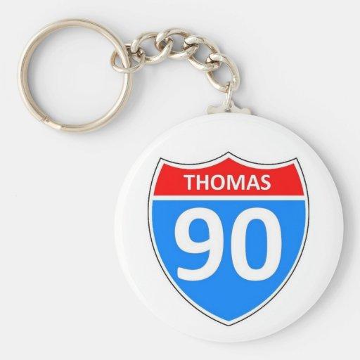 Thomas 90 key chains