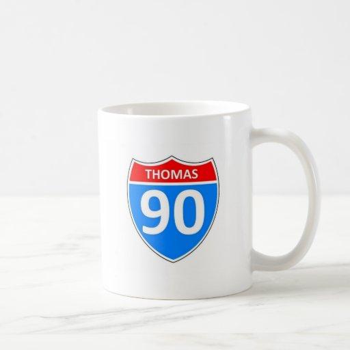 Thomas 90 mug
