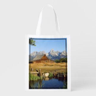 Thomas A. Moulton Barn Reusable Grocery Bags