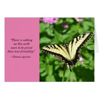 Thomas Aquinas Quote Friend Birthday Card