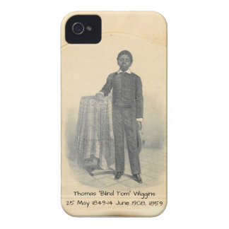 "Thomas ""Blind Tom"" Wiggins, 1859 iPhone 4 Cover"