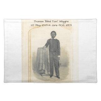 "Thomas ""Blind Tom"" Wiggins, 1859 Placemat"