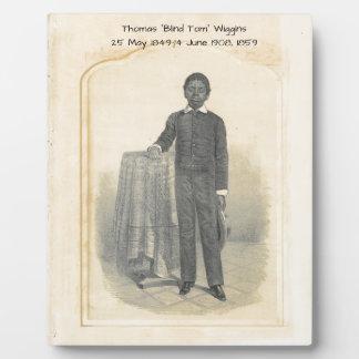 "Thomas ""Blind Tom"" Wiggins, 1859 Plaque"