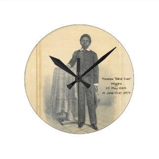 "Thomas ""Blind Tom"" Wiggins, 1859 Round Clock"