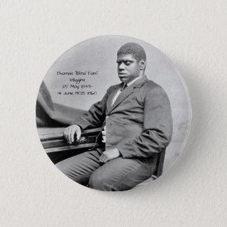 "Thomas ""Blind Tom"" Wiggins, 1860 6 Cm Round Badge"
