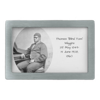"Thomas ""Blind Tom"" Wiggins, 1860 Belt Buckles"
