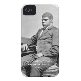 "Thomas ""Blind Tom"" Wiggins, 1860 Case-Mate iPhone 4 Case"