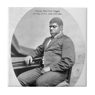 "Thomas ""Blind Tom"" Wiggins, 1860 Ceramic Tile"
