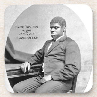 "Thomas ""Blind Tom"" Wiggins, 1860 Coaster"