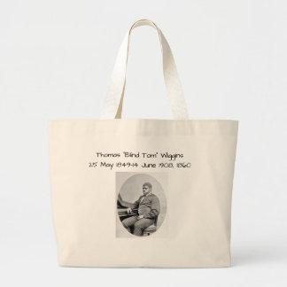 "Thomas ""Blind Tom"" Wiggins, 1860 Large Tote Bag"