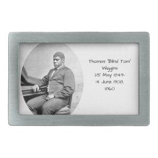 "Thomas ""Blind Tom"" Wiggins, 1860 Rectangular Belt Buckle"