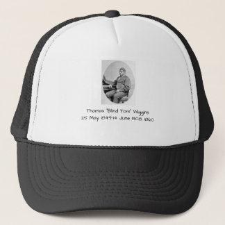 "Thomas ""Blind Tom"" Wiggins, 1860 Trucker Hat"