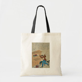 Thomas Carlyle, author Canvas Bags