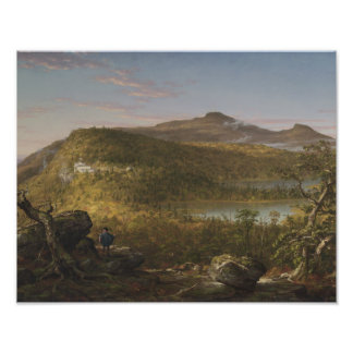 Thomas Cole - A View of the Two Lakes and Mountain Photograph