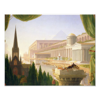 Thomas Cole - Architect's Dream Photographic Print
