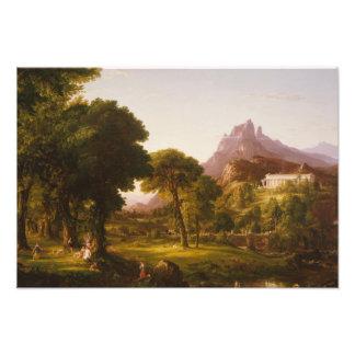 Thomas Cole - Dream of Arcadia Photo Print