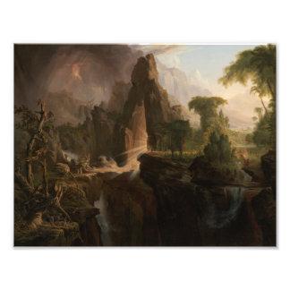 Thomas Cole - Expulsion from the Garden of Eden Photograph