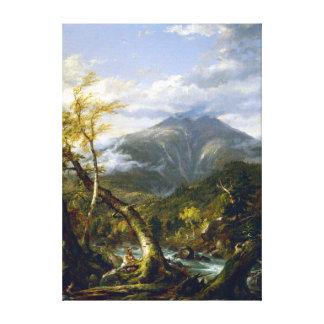 Thomas Cole Indian Pass Canvas Print