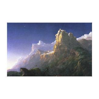 Thomas Cole Prometheus Bound Canvas Print