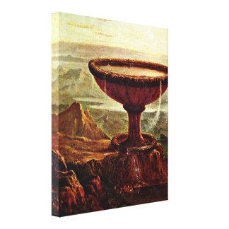 Thomas Cole - The Titans Goblet Canvas Print